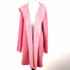 Women within 14/16 M 45% wool hooded coat duster